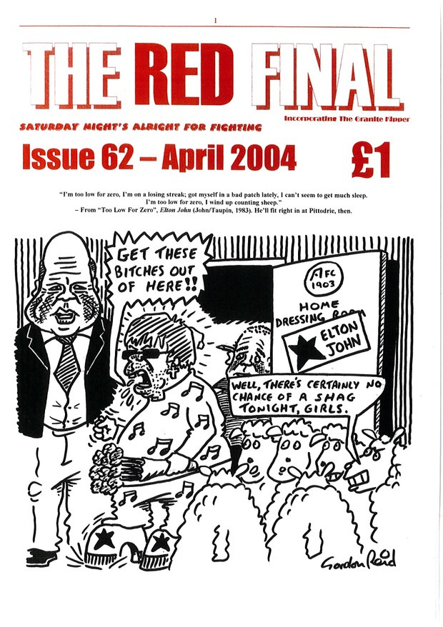 The Red Final, Issue 62