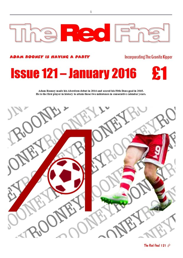 The Red Final, Issue 121