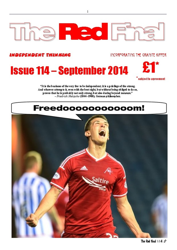 The Red Final, Issue 114