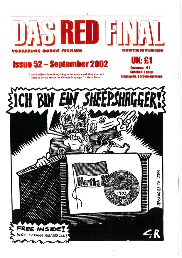 The Red Final, Issue 52