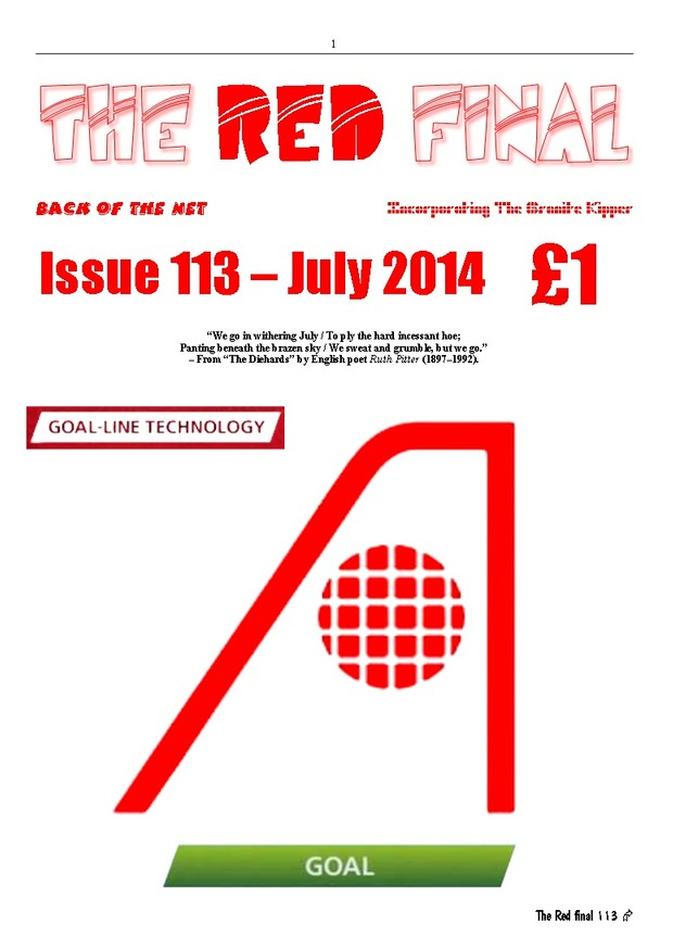 The Red Final, Issue 113