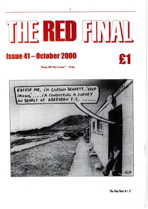 The Red Final, Issue 41