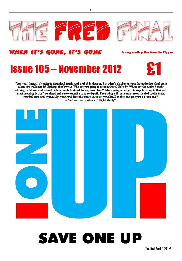 The Red Final, Issue 105