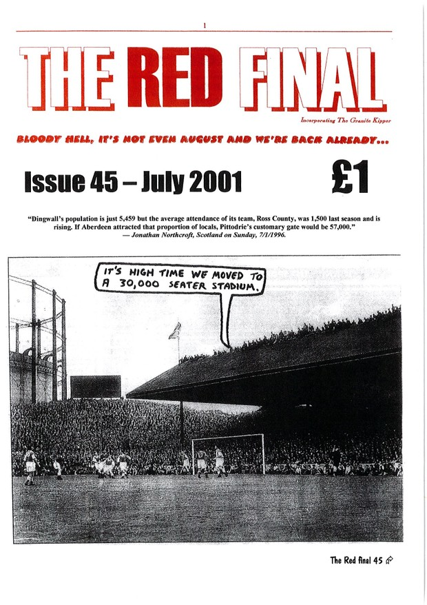 The Red Final, Issue 45