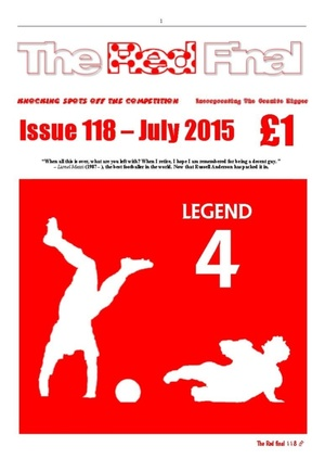 The Red Final, Issue 118