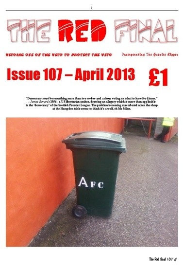 The Red Final, Issue 107