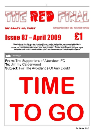 The Red Final, Issue 87