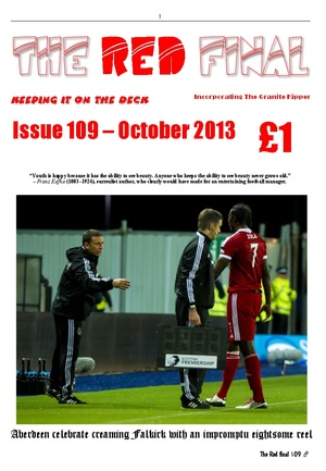 The Red Final, Issue 109