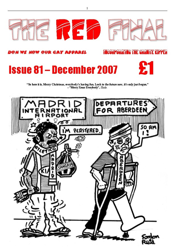 The Red Final, Issue 81