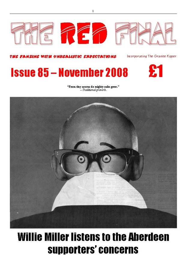 The Red Final, Issue 85