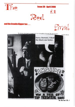 The Red Final, Issue 38