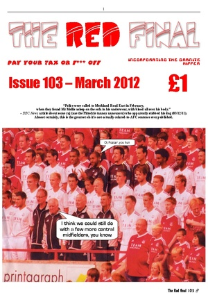 The Red Final, Issue 103