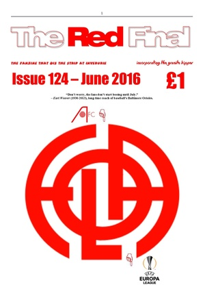 The Red Final, Issue 124