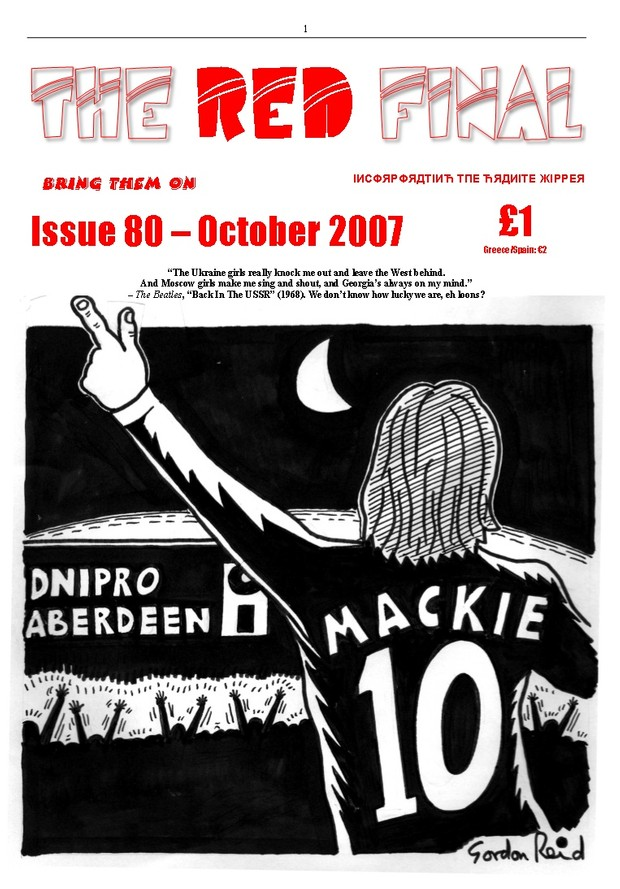 The Red Final, Issue 80