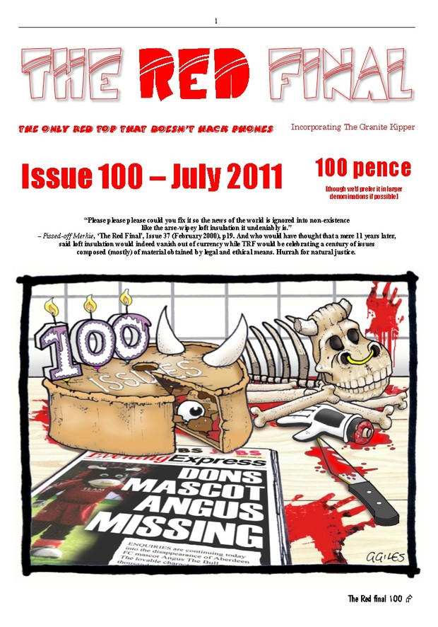 The Red Final, Issue 100