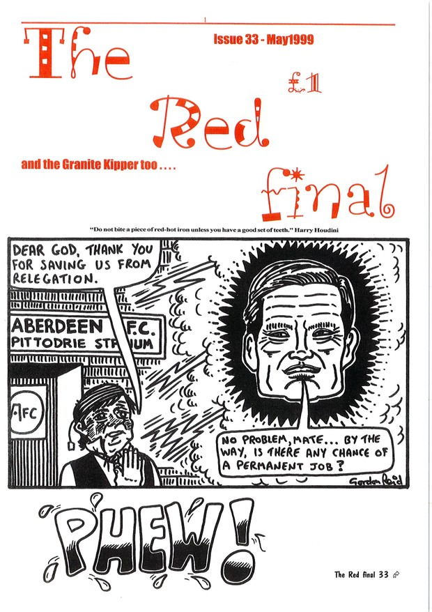 The Red Final, Issue 33