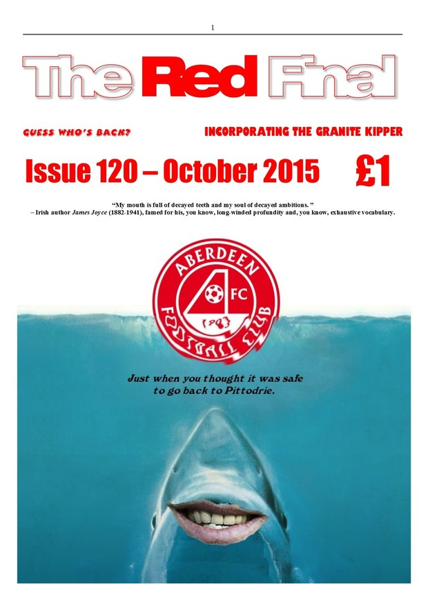 The Red Final, Issue 120