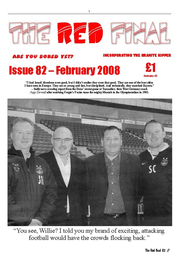 The Red Final, Issue 82