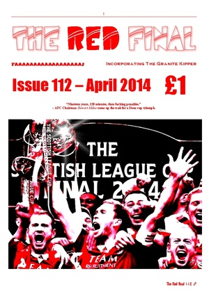 The Red Final, Issue 112