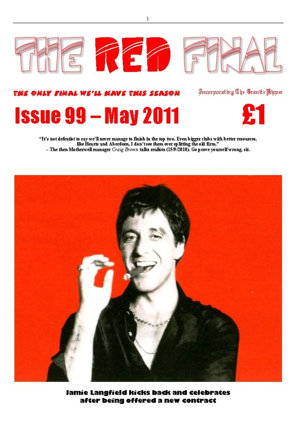 The Red Final, Issue 99