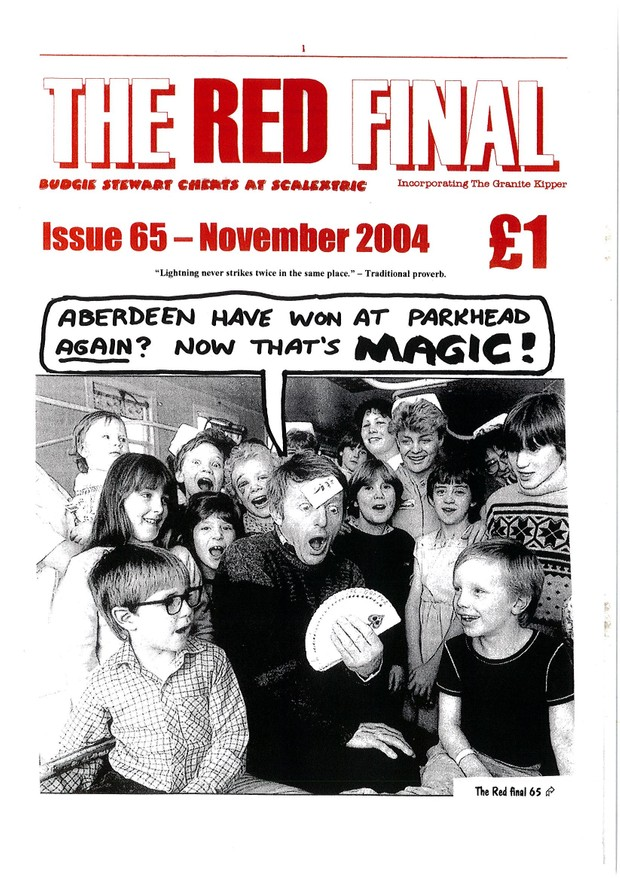 The Red Final, Issue 65