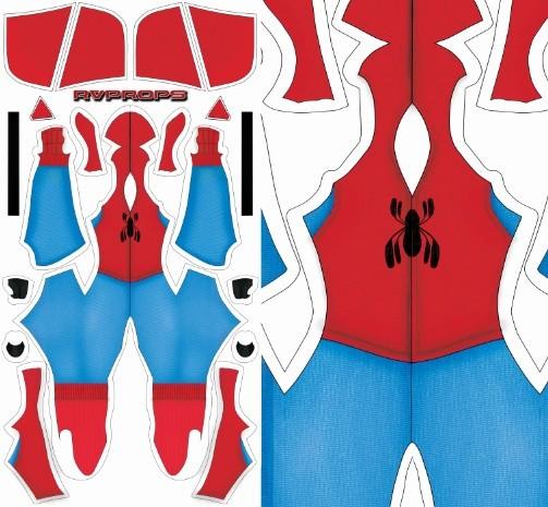 Spiderman Homemade suit