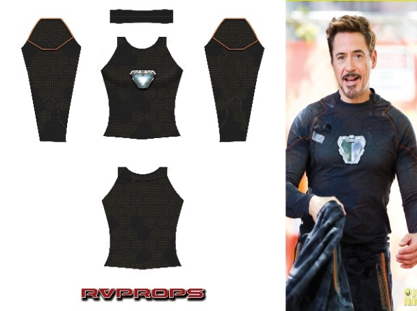 Tony Stark Infinity War (Arc reactor)