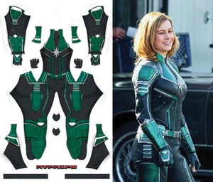 Captain Marvel Cree Suit