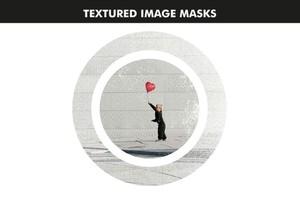 Textured Image Masks