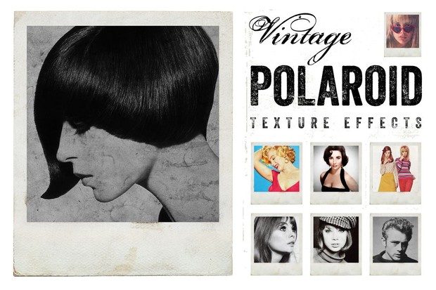 Vintage Polaroid Effects