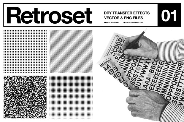 Retroset - Dry Transfer Effects