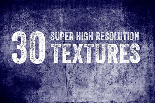 30 Super High Resolution Textures