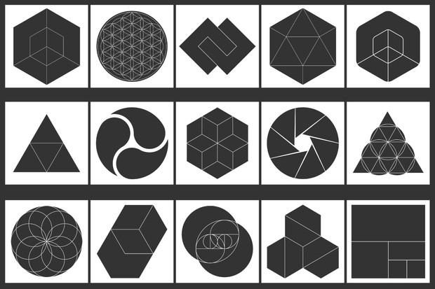 Instagram Geometric Mask Effects