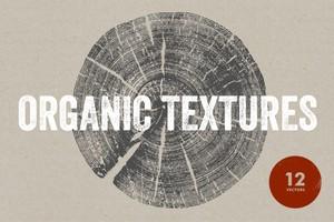 Organic Textures - 12 Vectors