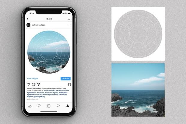 Instagram Circular Mask Effects