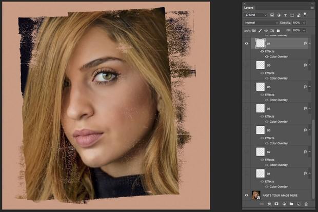 Instagram Textured Mask Effects
