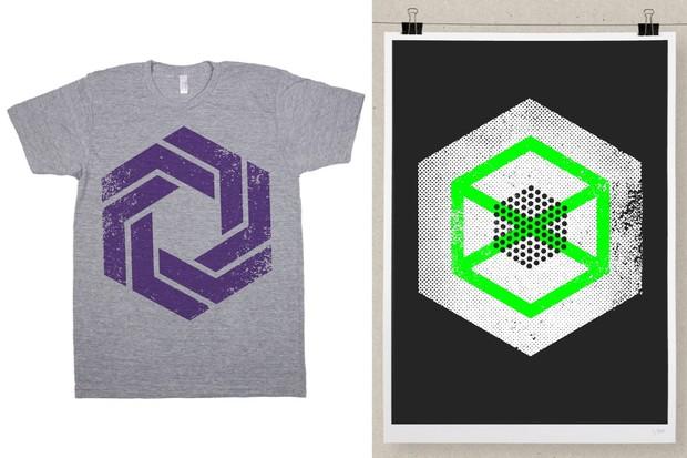 Hexagon Textures - 12 Vectors
