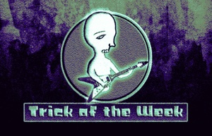 Trick of the Week X - Tapping for Electric Bass