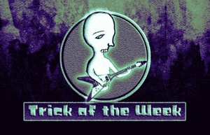 Trick of the Week III - sweep picking