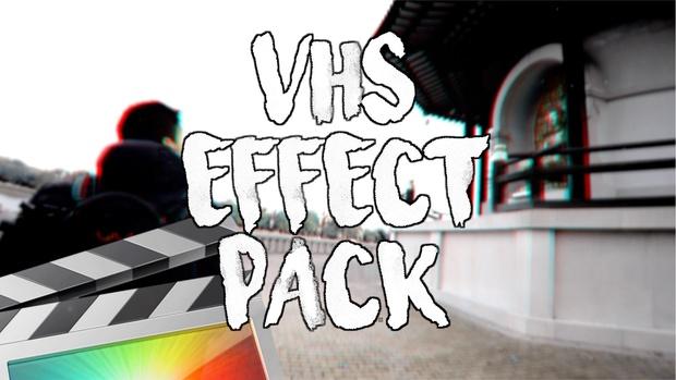VHS Effects Pack - Final Cut Pro X