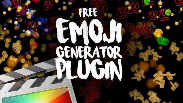 Free Emoji Generator Plugin - Final Cut Pro X