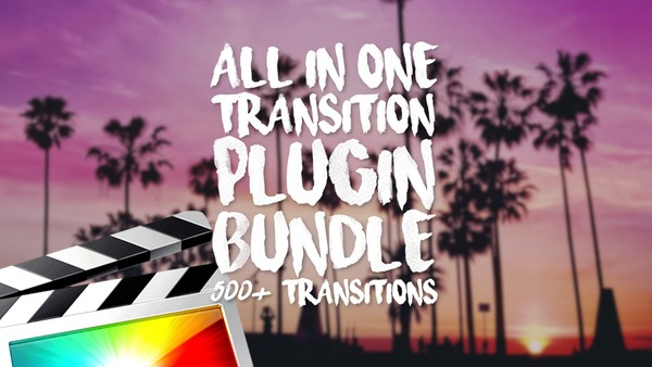 All In One Transition Plugin Bundle - Final Cut Pro X