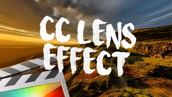 CC Lens Effect - Final Cut Pro X