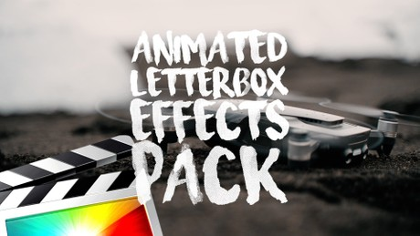 Animated Cinematic Letterbox Effects Pack - Final Cut Pro X