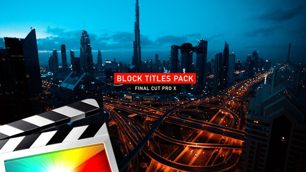 Block Titles Pack - Final Cut Pro X