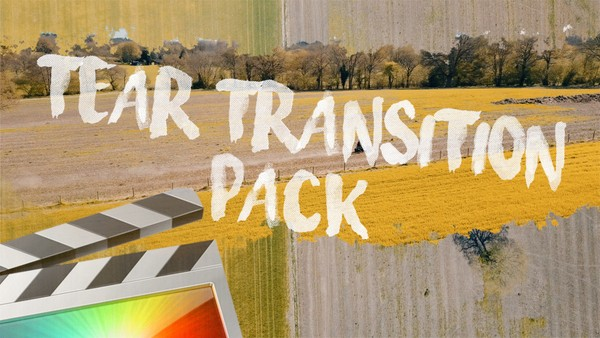 Tear Transition Pack - Final Cut Pro X
