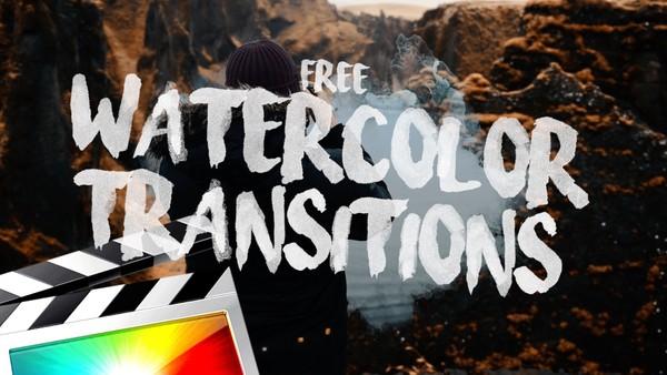 Free Watercolor Transitions - Final Cut Pro X