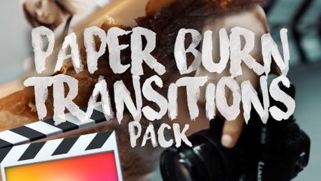 Paper Burn Transition Pack - Final Cut Pro