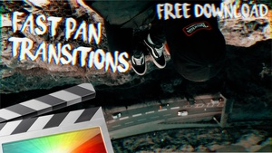 Free Fast Pan Transitions - Final Cut Pro X