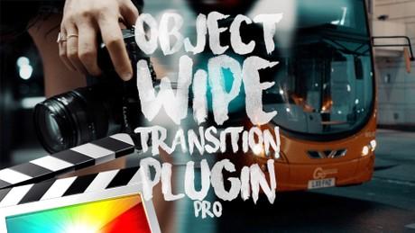 Object Wipe Transition Pro - Final Cut Pro X